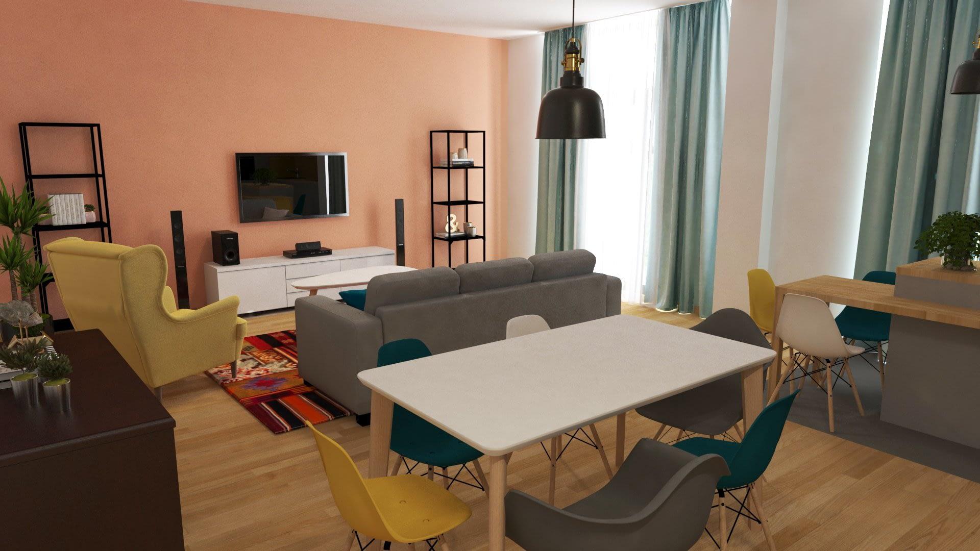 Design interior apartament Timisoara SILKEBORG