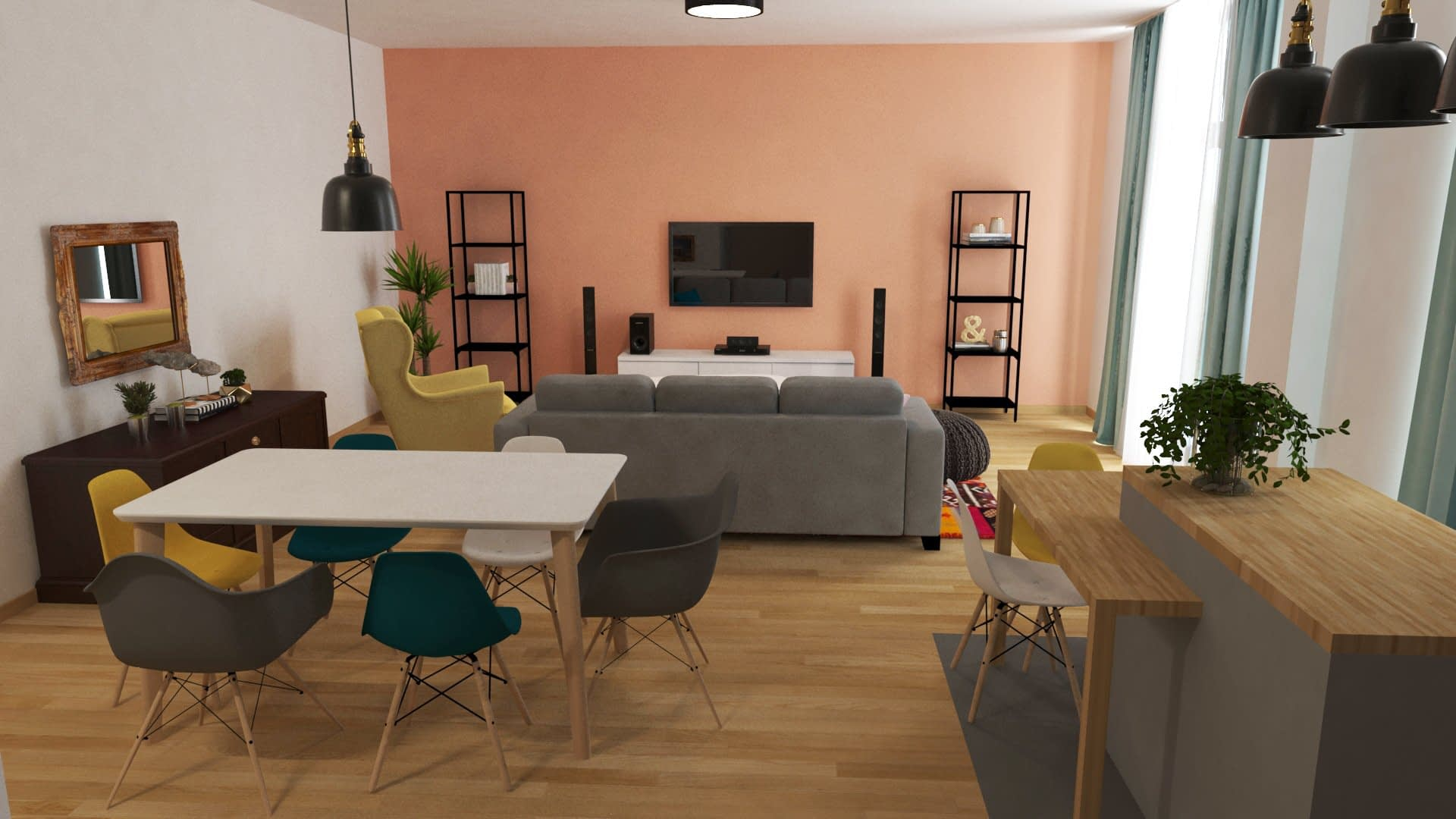 Design interior apartament Timisoara SILKEBORG 03