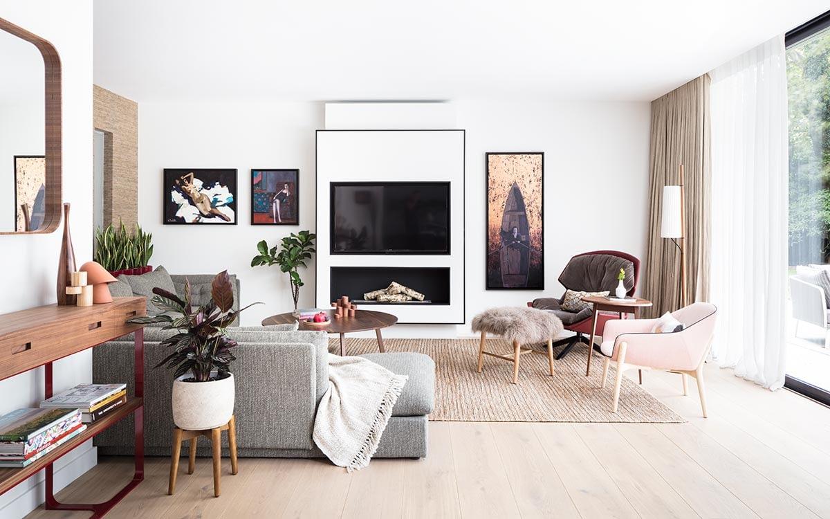 Design de interior contemporan intr-o casa din Londra. 1