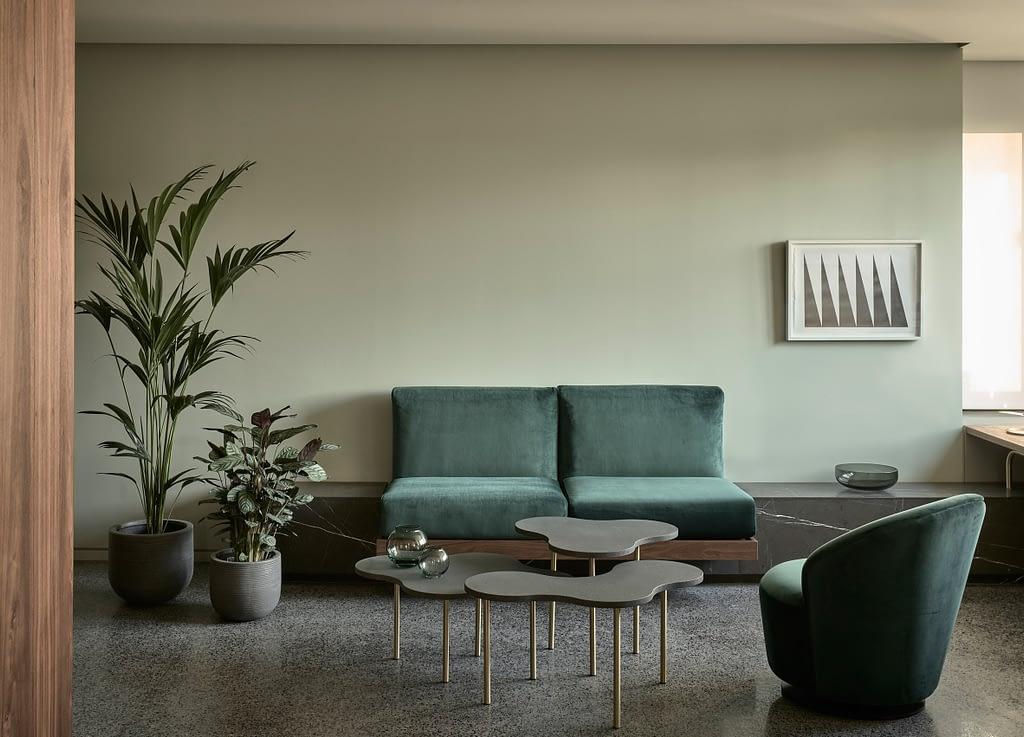 Interior neo-modernist pentru hotelul Perianth din Atena.-03