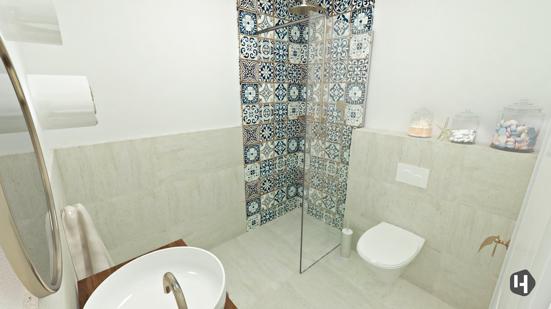 Morrocan Bathroom design