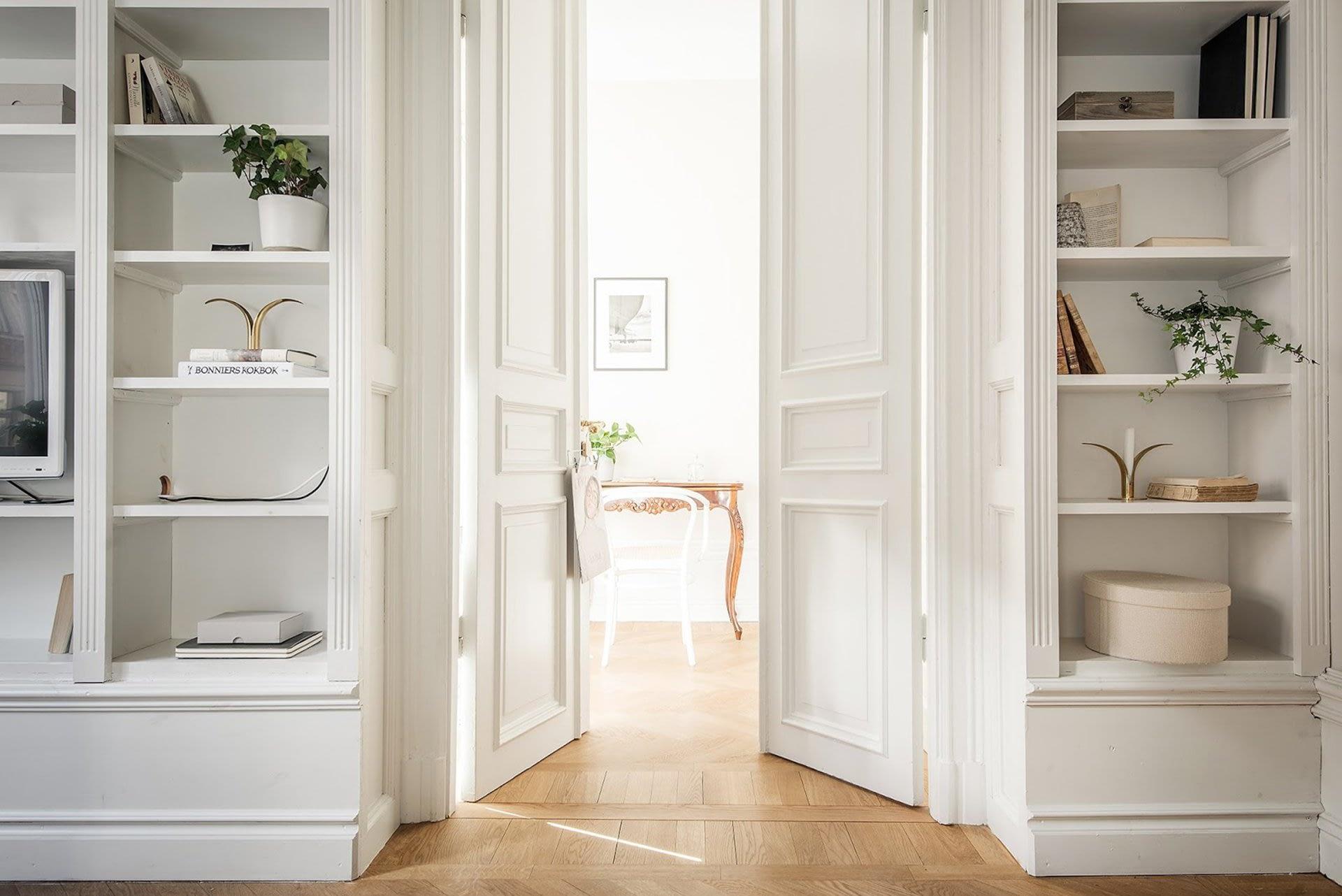 Amenajare scandinava in tonuri naturale de culoare intr-un apartament de 43 mp. 13