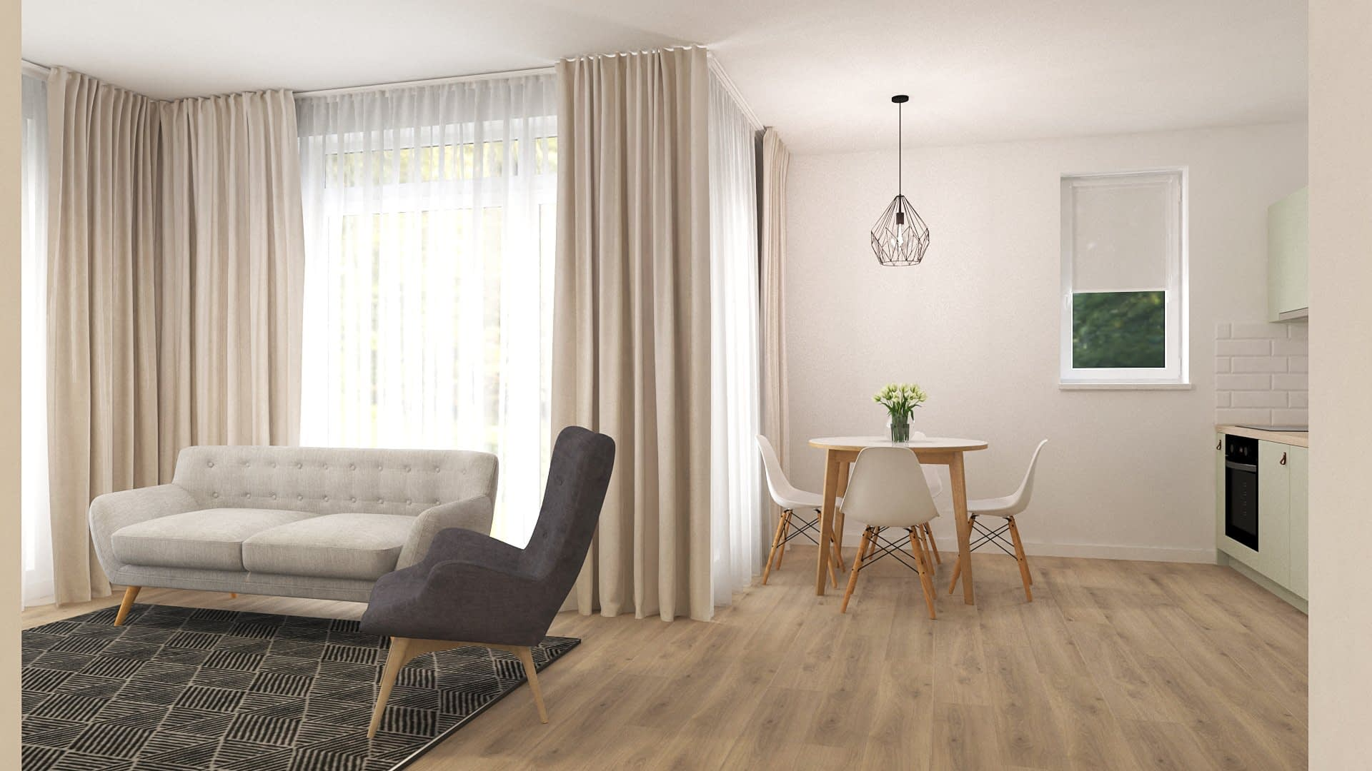 Pistachio | Apartment Design 03