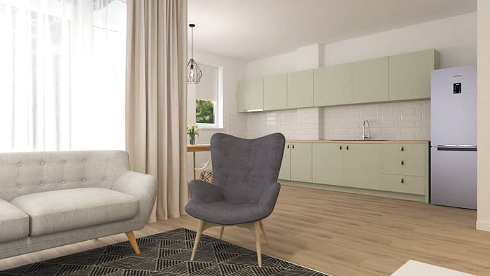 Pistachio | Apartment Design 01