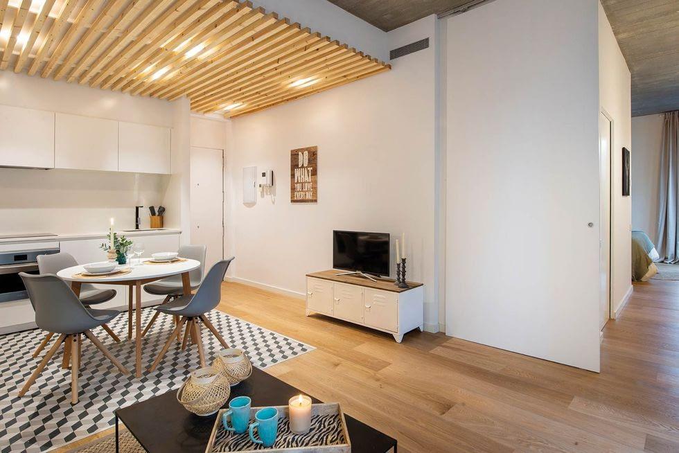 Amenajare simpla si practica intr-un apartament de 55 mp. 6