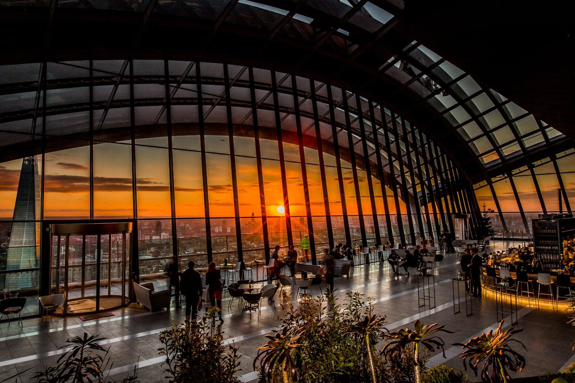 Sky Garden, Londra. 11