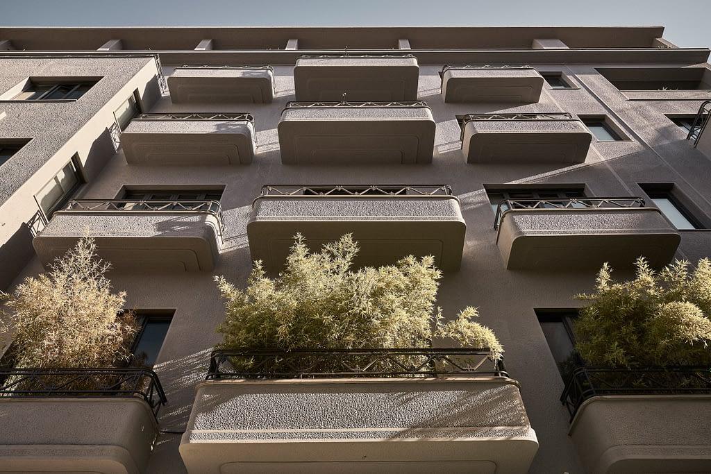 Interior neo-modernist pentru hotelul Perianth din Atena.-010