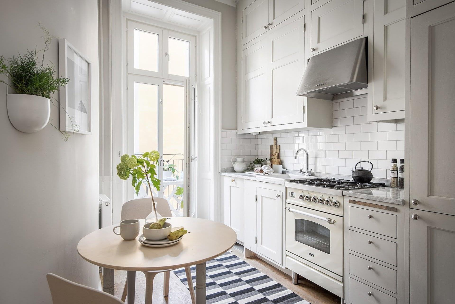 Amenajare scandinava in tonuri naturale de culoare intr-un apartament de 43 mp. 17