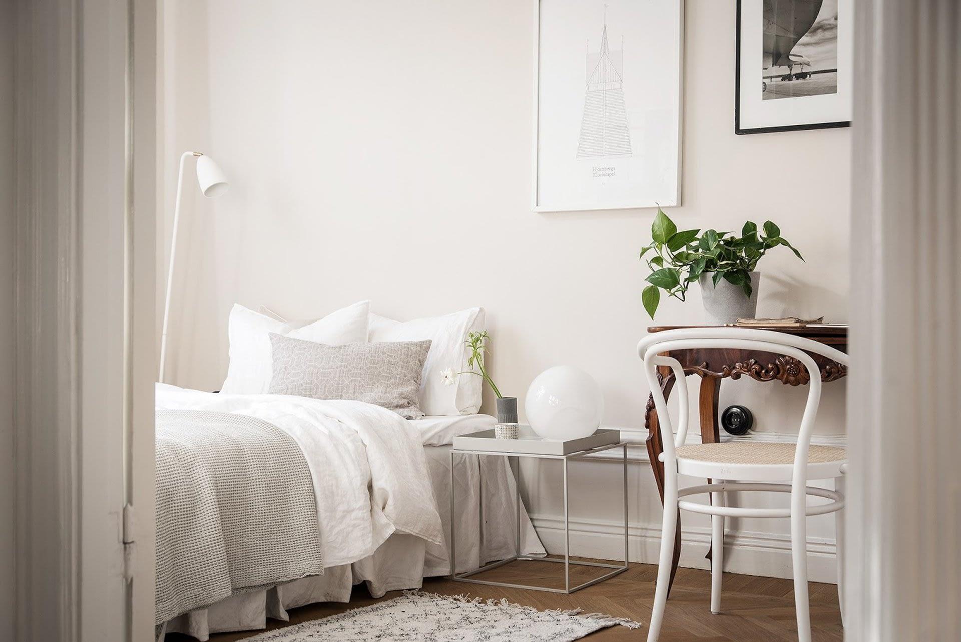 Amenajare scandinava in tonuri naturale de culoare intr-un apartament de 43 mp. 15