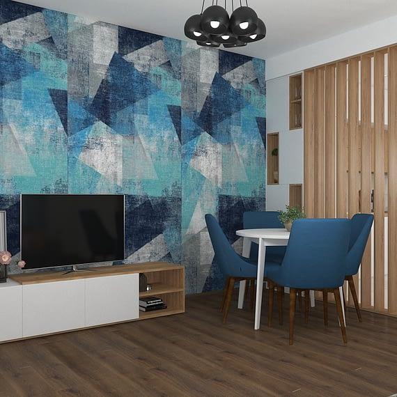 Denim | Kitchen & Living Design 01