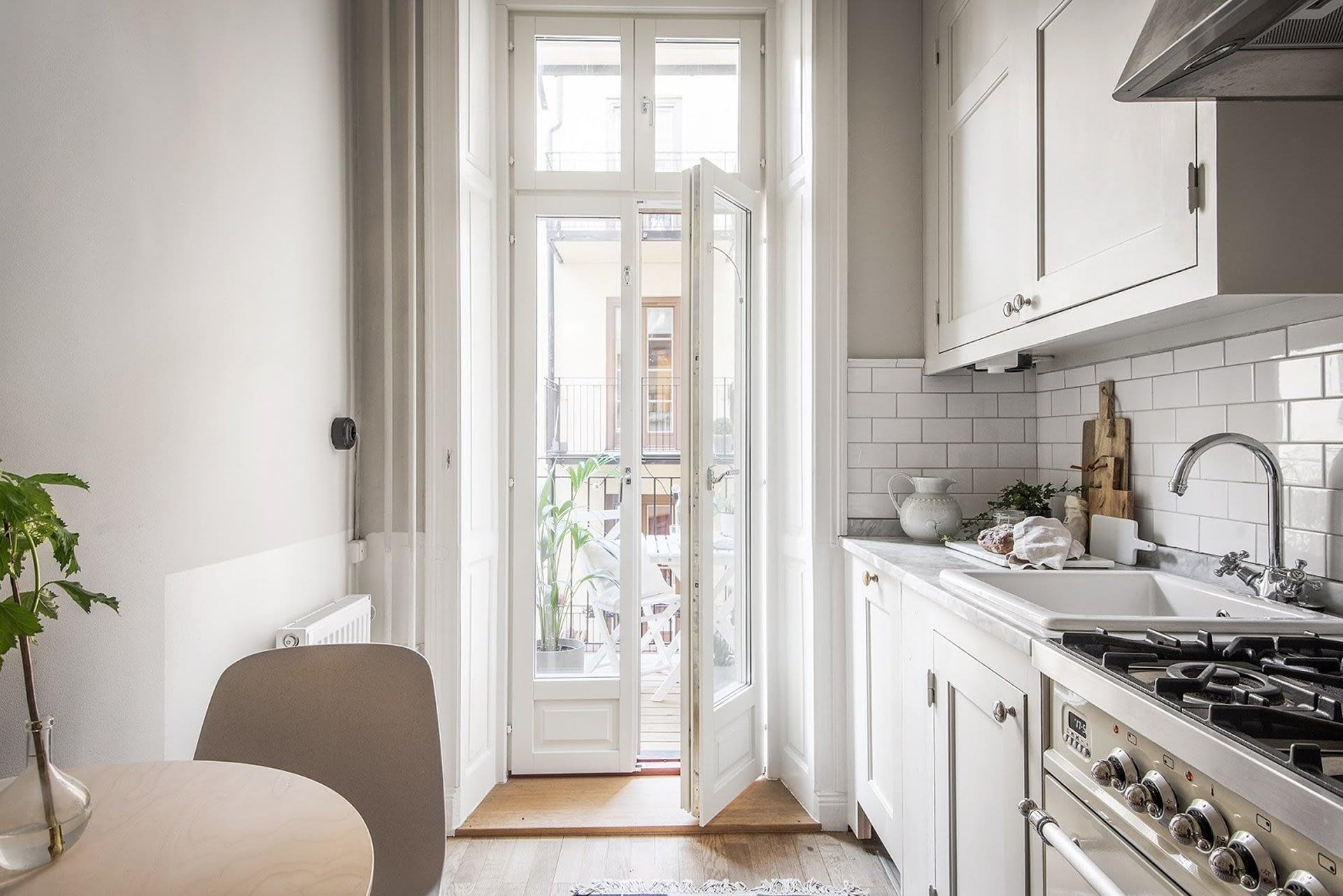 Amenajare scandinava in tonuri naturale de culoare intr-un apartament de 43 mp. 18